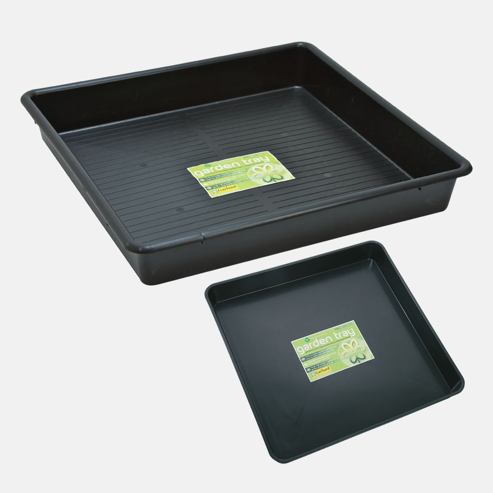Garland Square Black Trays