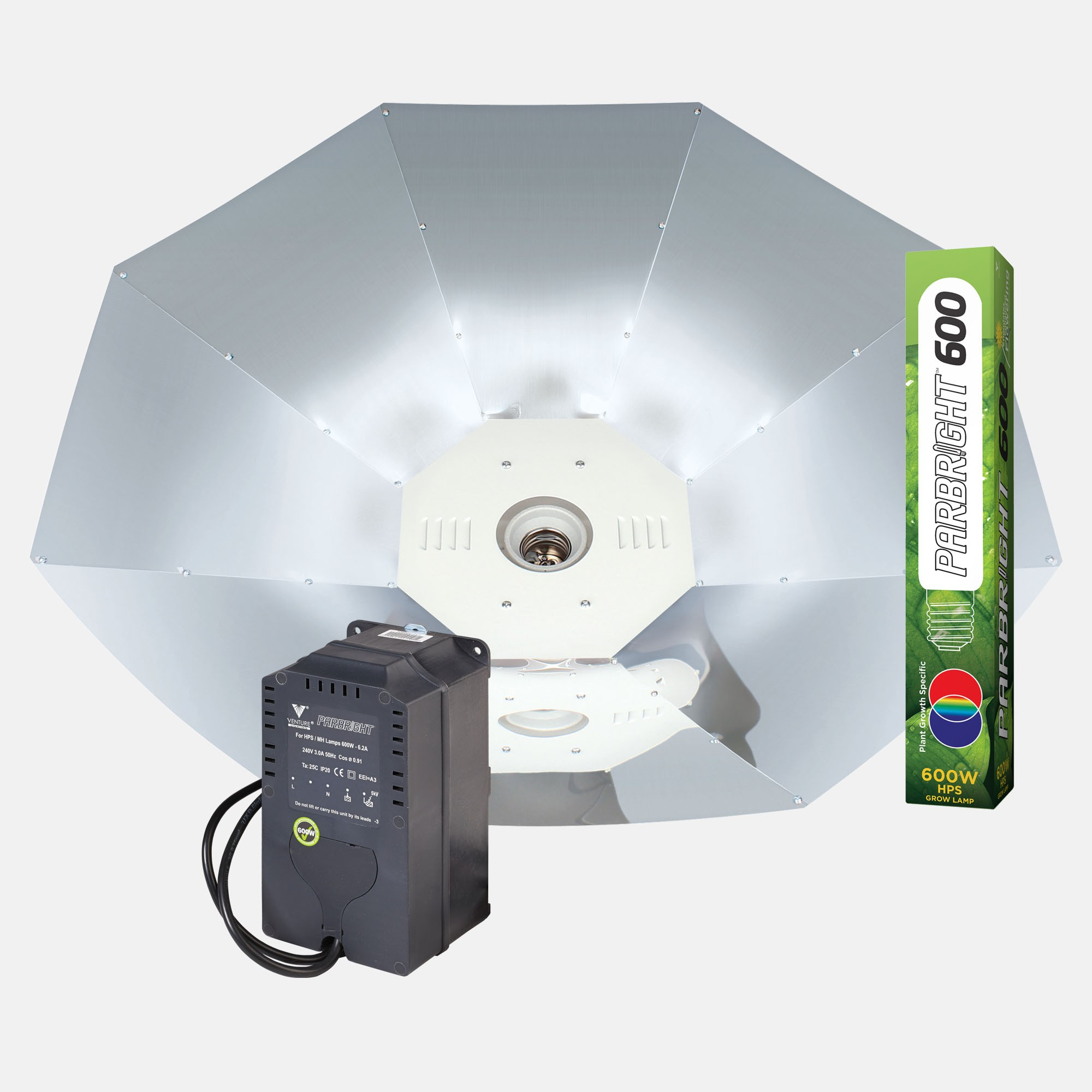 Parbright 600W Parabolic Kits
