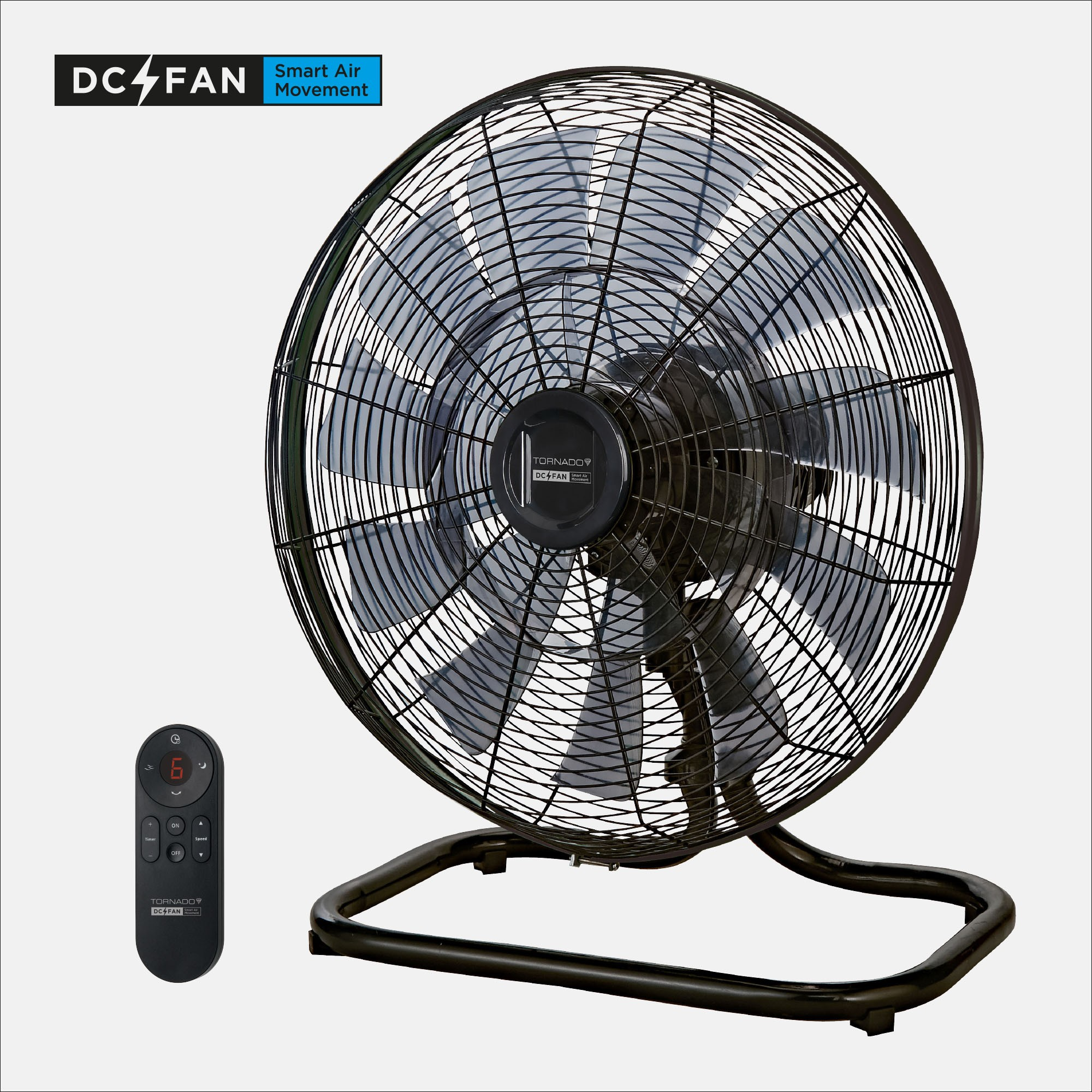 "Tornado DC 18"" Floor Fan"